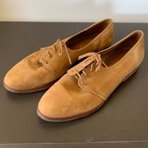 Bass Sued Tie Loafers